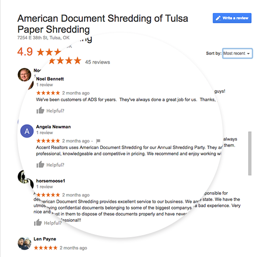 The Best Shredding Service In Tulsa